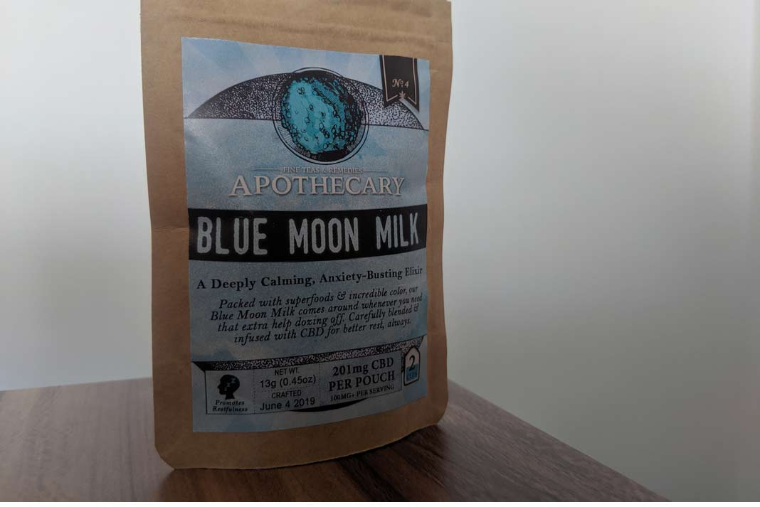 Blue Moon Milk by the Brothers Apothecary Review - My CBD