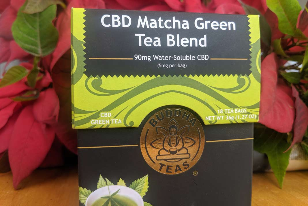 CBD Matcha Green Tea Blend by Buddha Teas Review - My CBD Oil Blog