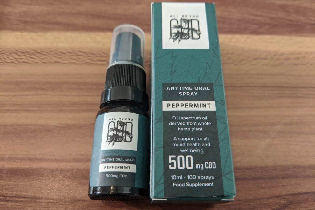 anytime oral spray cbd
