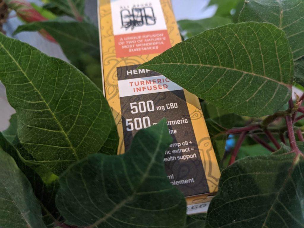 turmeric infused hemp oil