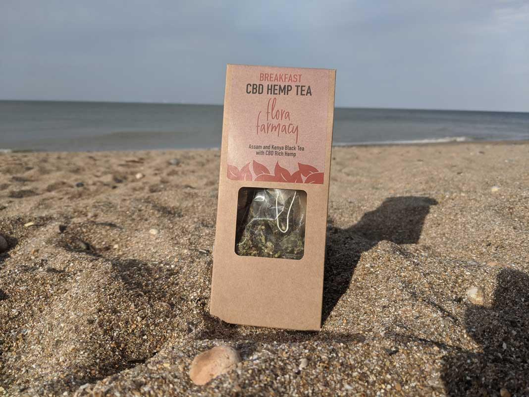 flora farmacy cbd tea