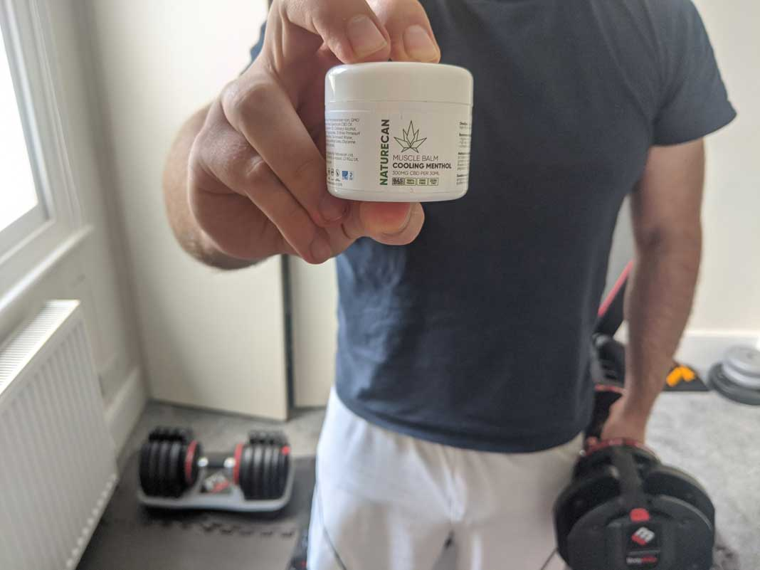 cooling menthol muscle balm